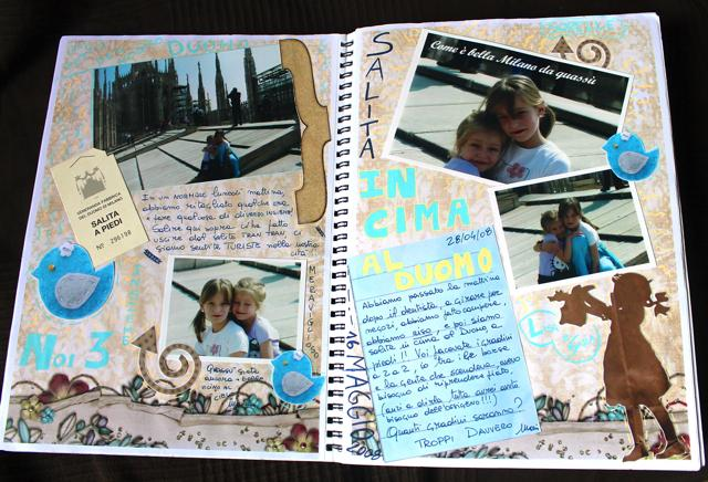 art journal - Monica e lo Scrapbooking