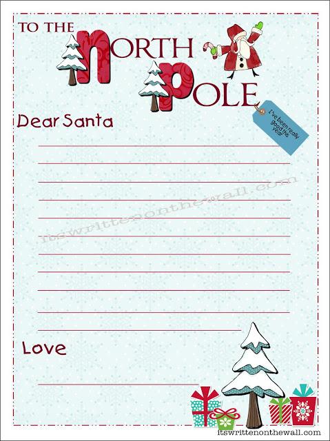 christmas santa letter