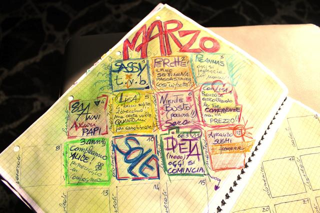 Calendar Journal Marzo