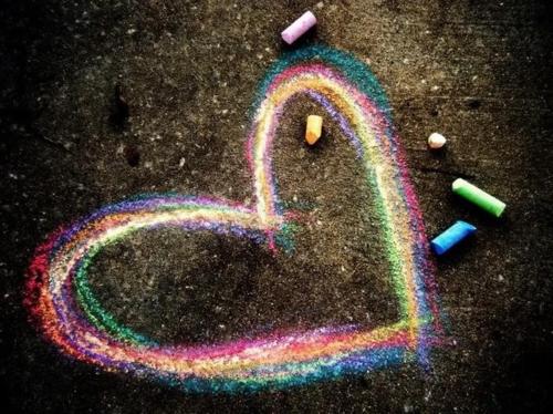 qui si crea con il cuore
