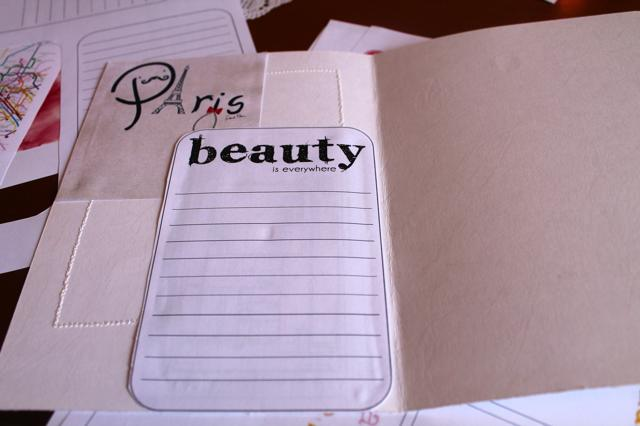 Travel Book Paris - Monica e lo scrapbooking